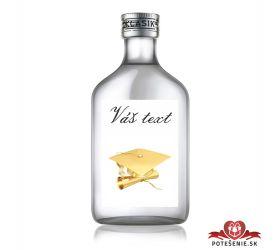 Promočná fľaštička s alkoholom 100 ml PF3
