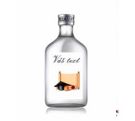 Promočná fľaštička s alkoholom 100 ml PF27
