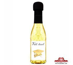 Promočné mini šampanské 200 ml so zlatom PM3