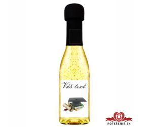 Promočné mini šampanské 200 ml so zlatom PM10