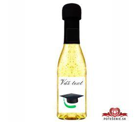 Promočné mini šampanské 200 ml so zlatom PM11