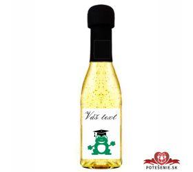 Promočné mini šampanské 200 ml so zlatom PM13