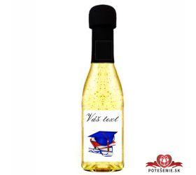 Promočné mini šampanské 200 ml so zlatom PM17