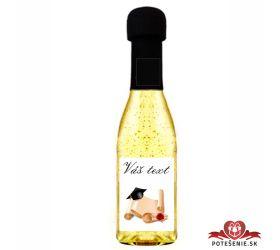 Promočné mini šampanské 200 ml so zlatom PM24