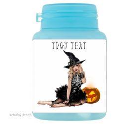 Halloweenske dražé žuvačky - 009