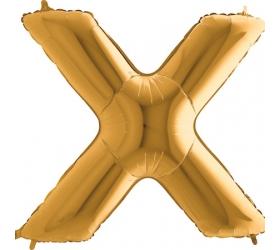 Balón písmeno X veľké