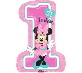 Balón Minnie Mouse číslo 1