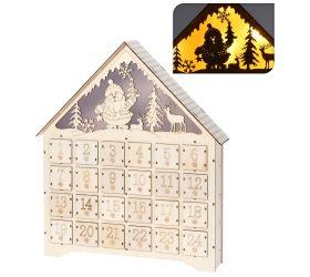 Dh8023890 adventný kalendár dom led