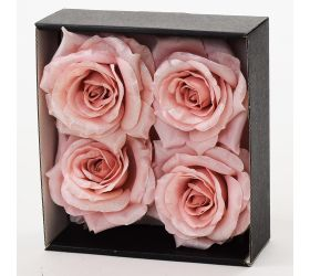 Ruža hlava vian.s/4 17cm biela