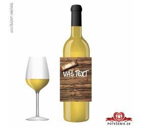 Narodeninové darčekové víno, motív 062