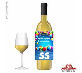 Narodeninové víno, číslo 55, motív 133