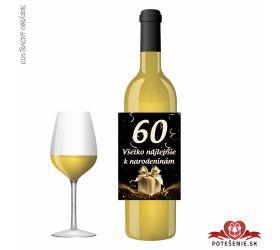 Narodeninové víno, číslo 60, motív 142