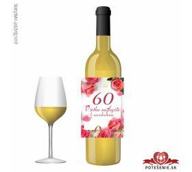 Narodeninové víno, číslo 60, motív 144