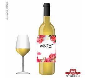 Narodeninové darčekové víno, motív 241