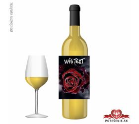 Narodeninové darčekové víno, motív 251