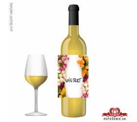 Narodeninové darčekové víno, motív 253