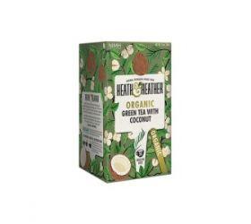 H&H BIO Zelený čaj s Kokosom 20x2g