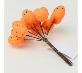 Vajíčka prepeličie s/6 oranžové
