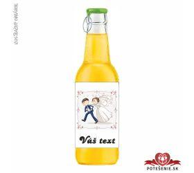 Svadobný ovocný nápoj pre hostí, motív S070
