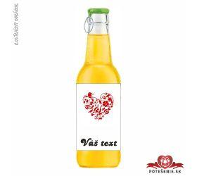Svadobný ovocný nápoj pre hostí, motív S072