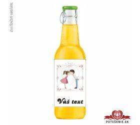 Svadobný ovocný nápoj pre hostí, motív S075
