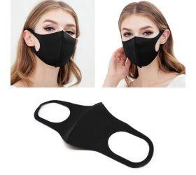 Elastické rúško na tvár dvojvrstvové so vzduchovým filtrom, 10 filtrov v balení