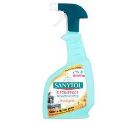 SANYTOL Dezinfekčný čistič na kuchyne 500 ml