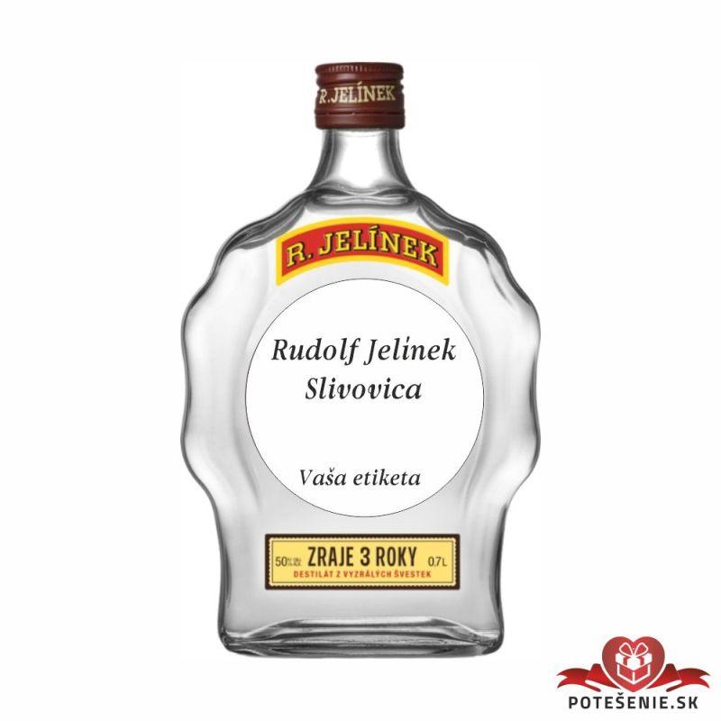 Svadobná mini fľaštička s alkoholom, motív S339 - Svadobné fľaštičky malé