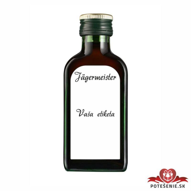 Narodeninová fľaštička s alkoholom, číslo 30, motív 2 - Fľaštičky s číslom malé
